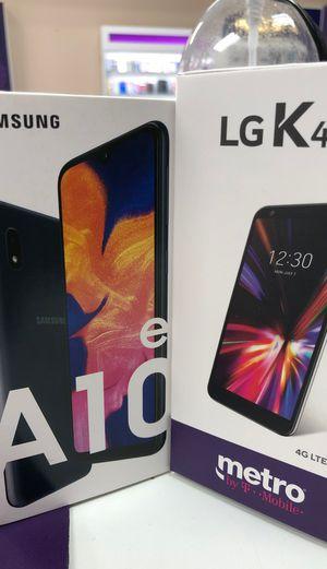 Samsung galaxy a10e and lg k40 free for Sale in Dallas, TX