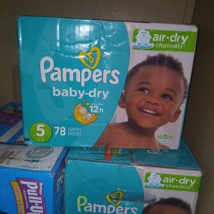 Pampers Size 5 for Sale in Oklahoma City, OK