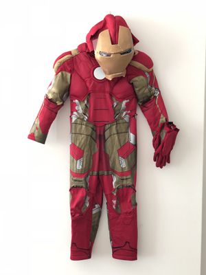 Iron man kids costume for Sale in Miami Beach, FL