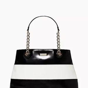 Brand New Kate Spade Black & White Stripe Tote Bag for Sale in Santa Ana, CA