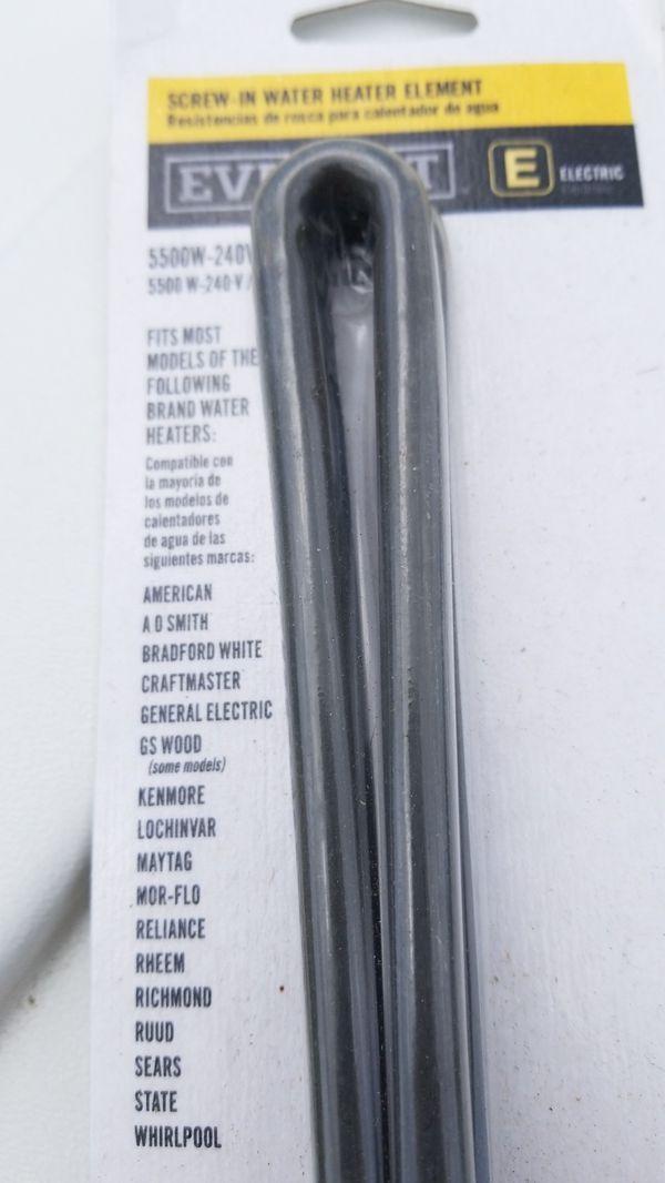 Screw-in Water Heater Element