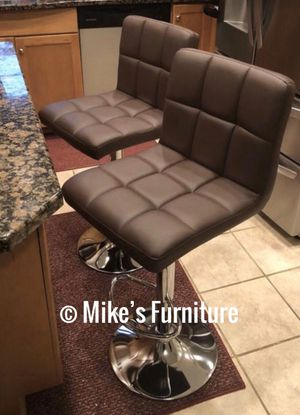 Brand new 2 brown bar stools $55 each (shipping is available) for Sale in Orlando, FL