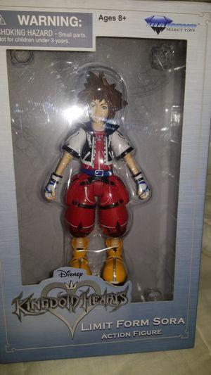 Disney Kingdom Hearts limited edition sora for Sale in Salida, CA