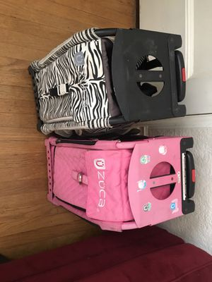 Zuca Rolling Bag with lighted wheels $45 each for Sale in San Diego, CA