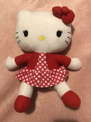Hello kitty plushie for Sale in Dallas, TX