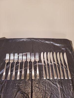 STAINLESS DINNERWARE EATING UTENSILS - 31 Pieces for Sale in Arlington, VA