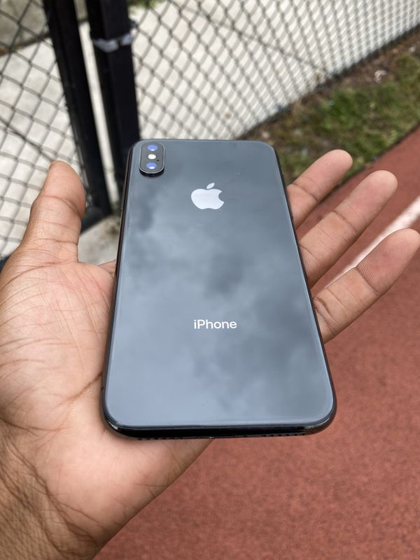 iPhone X - Black 256gb