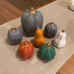 Decorative Ceramic Pumpkins for Sale in Los Angeles, CA