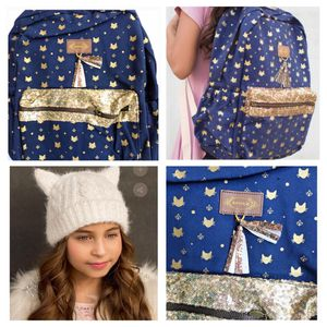 Adorable Joyfolie girls backpack and winter hat for Sale in Mill Creek, WA
