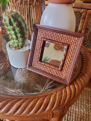 Square wooden mirrors/ set of 2 for Sale in San Diego, CA