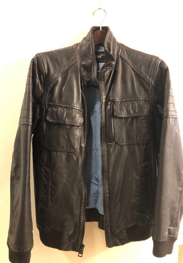 Brand new leather coat