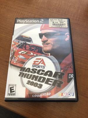 NASCAR Thunder 2003 PS2 Game for Sale in Atlanta, GA