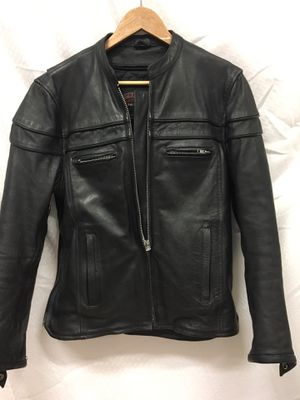 Rolling Thunder Leather Motorcycle Jacket - Size L for Sale in Salt Lake City, UT