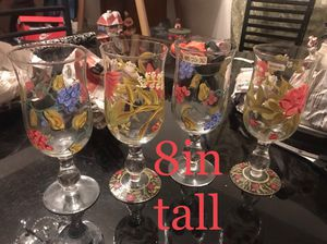 Set of 4 glasses for Sale in Hyattsville, MD