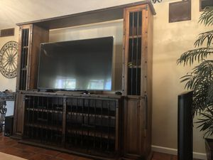 Spanish style entertainment center for Sale in Bakersfield, CA