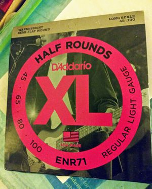 D'Addario Bass Strings 1 Set Half Rounds, New in Package - for Sale in Brooklyn, NY