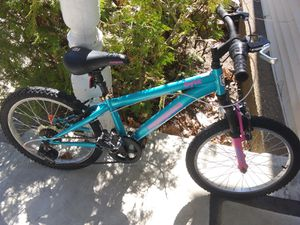 "Girl's mongoose byte 20"" 7 speed mountain bike for Sale in Laconia, NH"