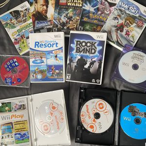 Nintendo wii Games On Sale $5 To $20 Each Bundle $70 for Sale in Miami, FL