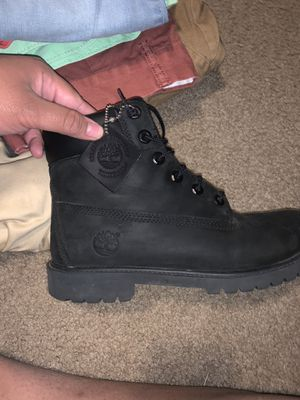 Black timberlands 6.5 women for Sale in Humble, TX