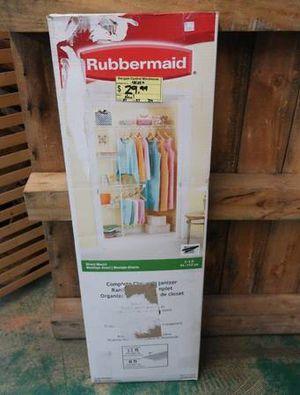 Rubbermaid Complete Closet Organizer Shelving Unit for Sale in Scottsdale, AZ