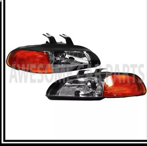 1992 to 1995 Honda civic 2/3dr headlight set for Sale in Riverside, CA