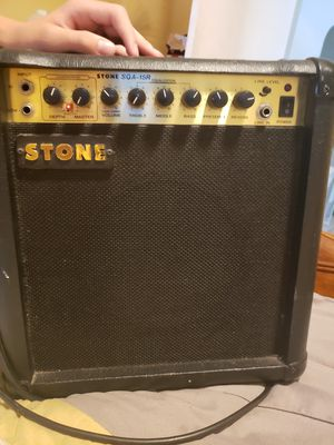 Stone guitar amp for Sale in Lake Alfred, FL
