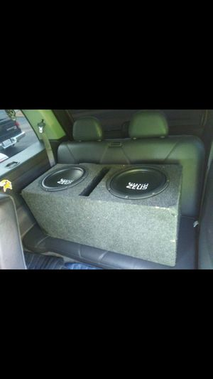 "Subwofers 12"" HIFONICS for Sale in Federal Way, WA"