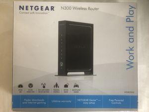 Netgear N300 Wireless router for Sale in Boca Raton, FL