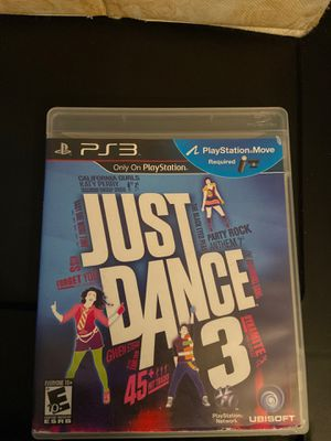 Just Dance 3 PS3 for Sale in Tucson, AZ
