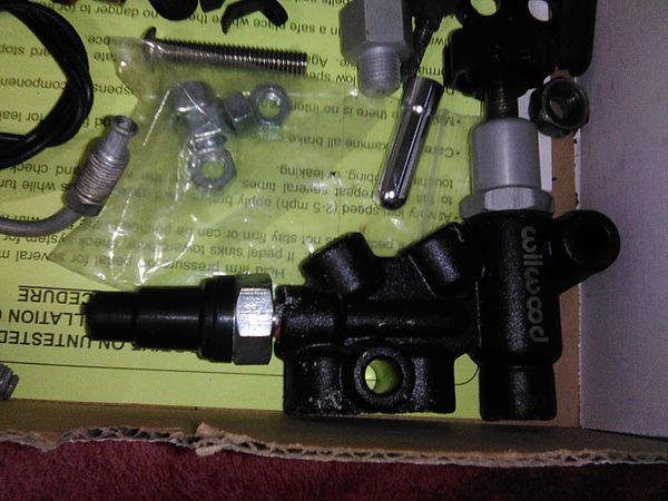 Wilwood disc brakes adjustable proportioning valve and parts