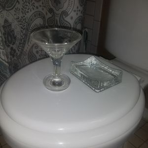 Glass Bathroom Accessories for Sale in Glendale, AZ