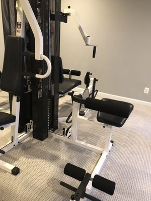Tuff stuff 250 complete gym with two sets of 200 pound weight for Sale in Fairfax, VA