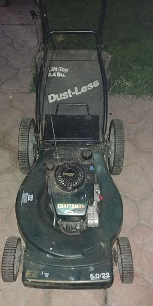 Lawn mower craftsman 5.0 for Sale in Manteca, CA