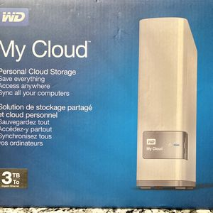 WD My Cloud 3 TB Personal Cloud Storage for Sale in Fort Lauderdale, FL