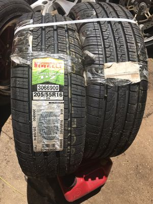 205/55r16 Pirelli P7 All season Tires for Sale in The Bronx, NY