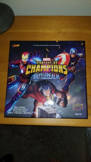 Marvel contest of champions board game for Sale in Beaverton, OR