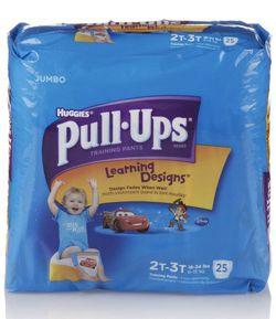 Huggies Pull-ups Training Pants Boys 2t-3t, 25 Count for Sale in Fontana,  CA