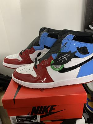 Air Jordan 1 High Fearless UNC Chigaco size 9.5 for Sale in Torrance, CA