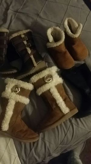 4 pairs of boots for girls ! for Sale in North Chesterfield, VA