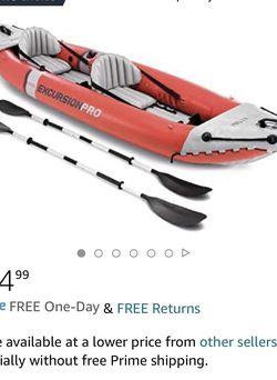 Intex Excursion Pro Kayak for Sale in Randolph,  NJ