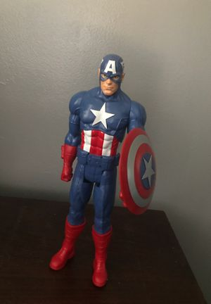 Captain America toy/action figure for Sale in Hialeah, FL