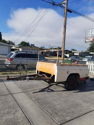 Trailer, ford courier box, good tire, strong one axel for Sale in Hayward, CA