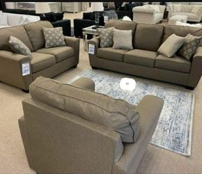 👻👻Calicho Cashmere Living Room Set💚 byAshley(Loveseat And sofa) for Sale in Greenbelt,  MD