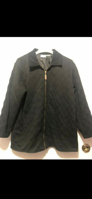 Size XL black jacket. excellent condition for Sale in Fort Worth, TX