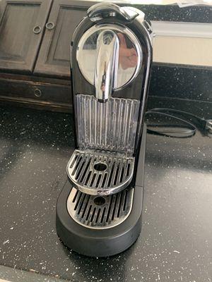Nespresso Citiz D111 Chrome Single Serve Espresso Machine Coffee Maker for Sale in Rockville, MD