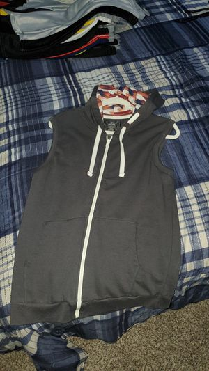 No Sleeve Jacket with hoodie for Sale in Buckeye, AZ