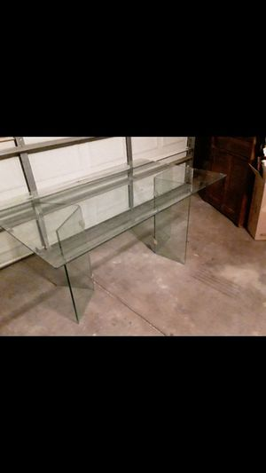 Huge Glass Table for Sale in Mesa, AZ