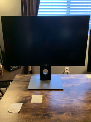 Dell 27 inch gaming monitor: S2716dg + dual arm monitor mount for Sale in Clovis, CA
