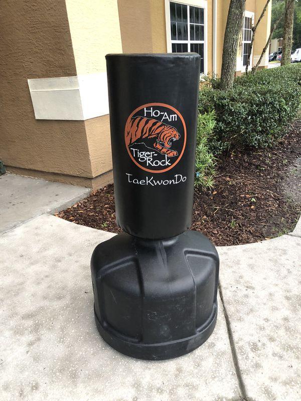 Freestanding Tiger Rock Training Bag