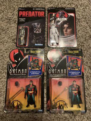 BATMAN & ROBIN DC, PREDATOR & ALIEN ACTION FIGURE TOYS for Sale in Las Vegas, NV